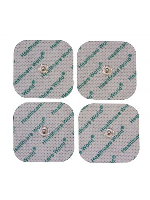 Healthcare World® Stud Tens Electrode Pads for Beurer, Sanitas Tens Machines - Set of Four
