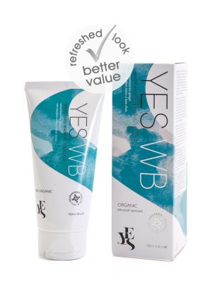 YES® WB Water Based Personal Lubricant Re-hydrating With Natural Organic Ingredients100ml Tube